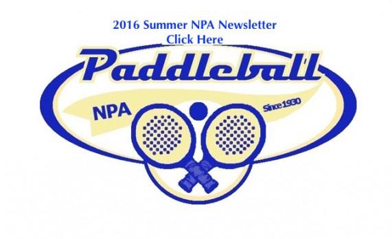 2016 Summer NPA Newsletter