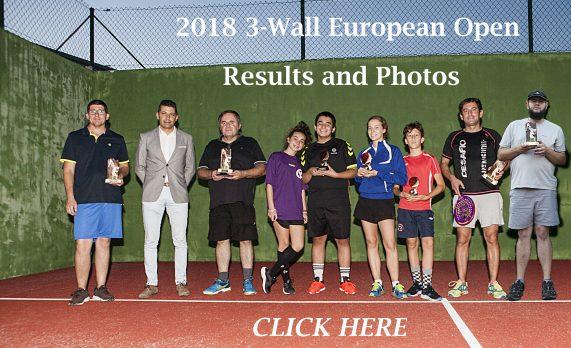 3-Wall European Open