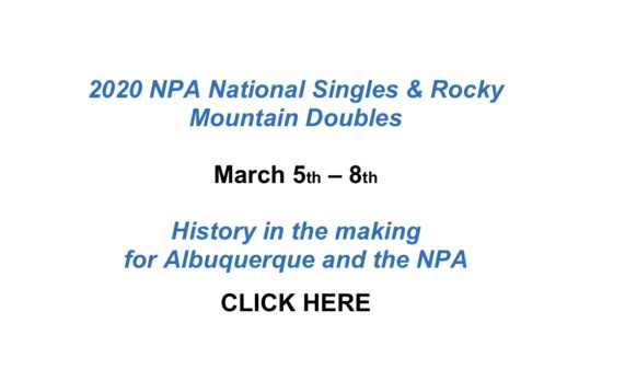 National Singles Rocky Mountain Doubles