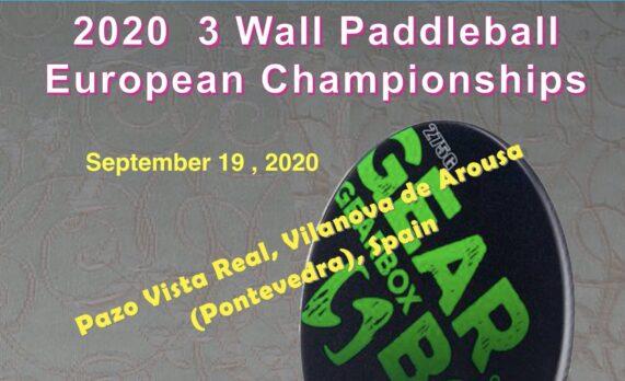 2020 European 3 Wall Open