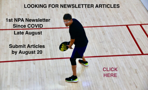 Newsletter Articles Wanted